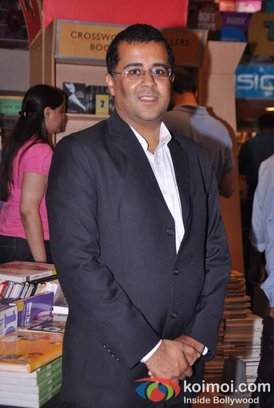 Chetan Bhagat At Mercedes-Benz Magazine Anniversary Issue Launch