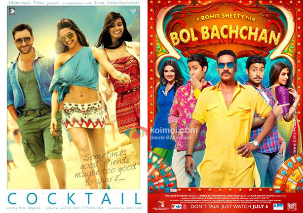 Cocktail and Bol Bachchan Movie Poster