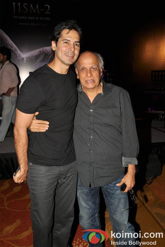 Dino Morea, Mahesh Bhatt At Jism 2 Movie Press Conference