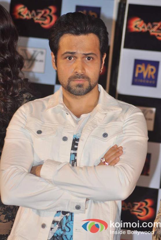 Emraan Hashmi At Raaz 3 Movie Press Meet