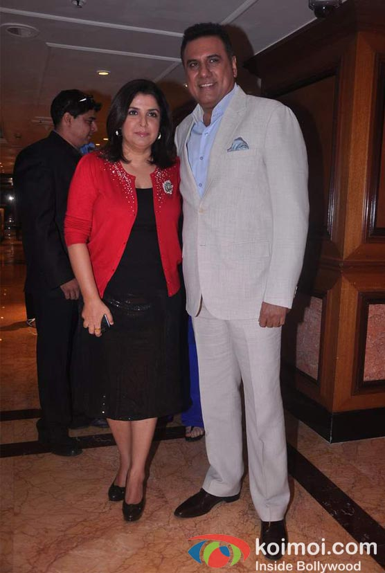 Farah Khan, Boman Irani At Shirin Farhad Ki Toh Nikal Padi Movie Music Launch