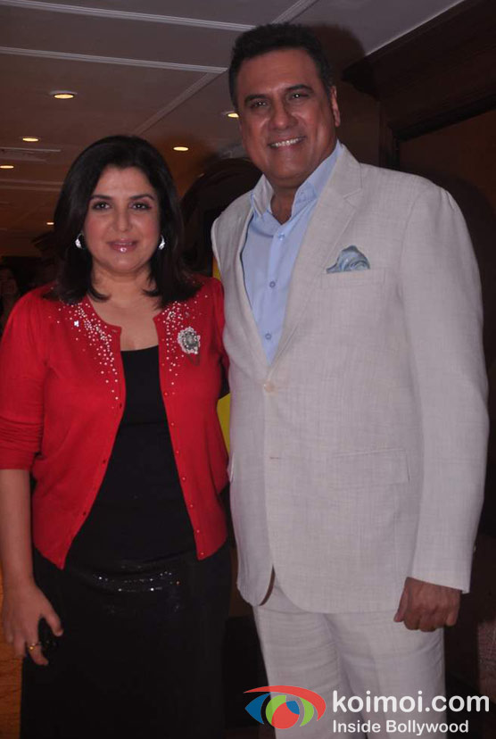 Farah Khan Boman Irani At Shirin Farhad Ki Toh Nikal Padi Movie Music Launch