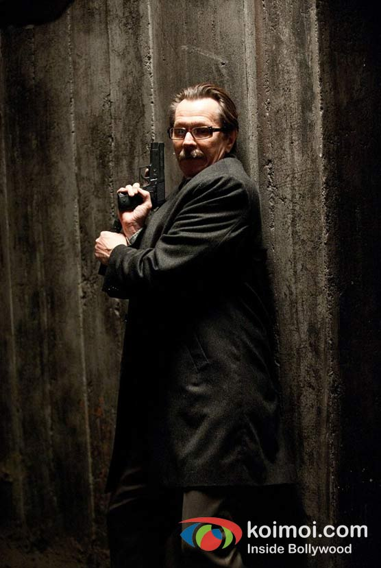 Gary Oldman In The Dark Knight Rises Movie Stills