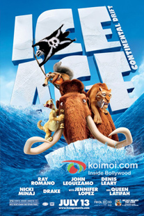 Ice Age 4 Movie Review (Ice Age 4 Movie Poster)