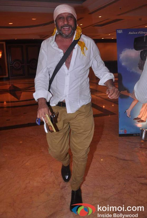 Jackie Shroff At Shirin Farhad Ki Toh Nikal Padi Movie Music Launch
