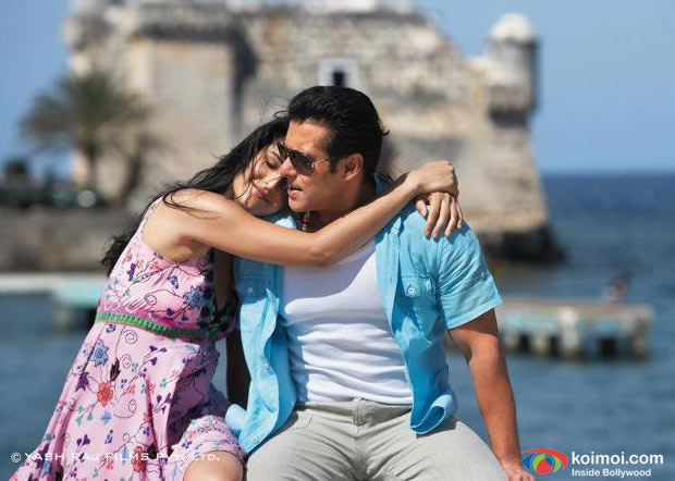 Katrina Kaif, Salman Khan In Ek Tha Tiger Movie Stills