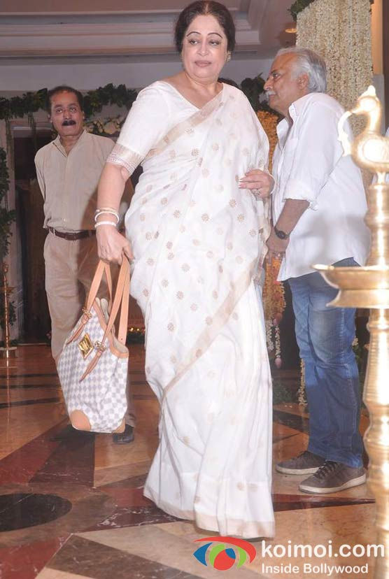 Kirron Kher At Rajesh Khanna's Prayer Meet