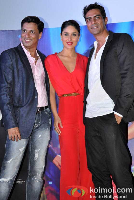 Madhur Bhandarkar, Kareena Kapoor, Arjun Rampal At Heroine Movie Trailer Launch
