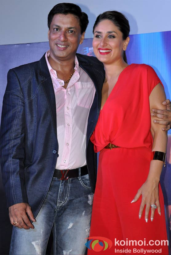 Madhur Bhandarkar, Kareena Kapoor At Heroine Movie Trailer Launch