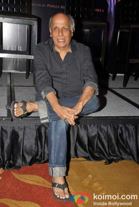 Mahesh Bhatt At Jism 2 Movie Press Conference