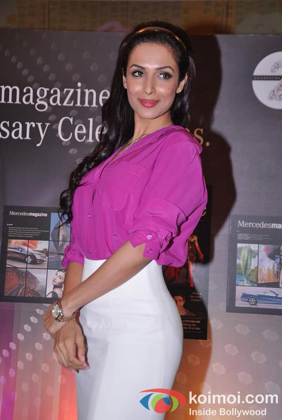 Malaika Arora Khan At Mercedes-Benz Magazine Anniversary Issue Launch