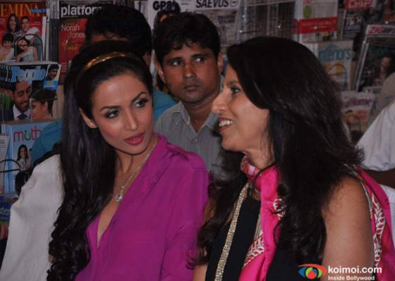 Malaika Arora Khan, Shobhaa De At Mercedes-Benz Magazine Anniversary Issue Launch