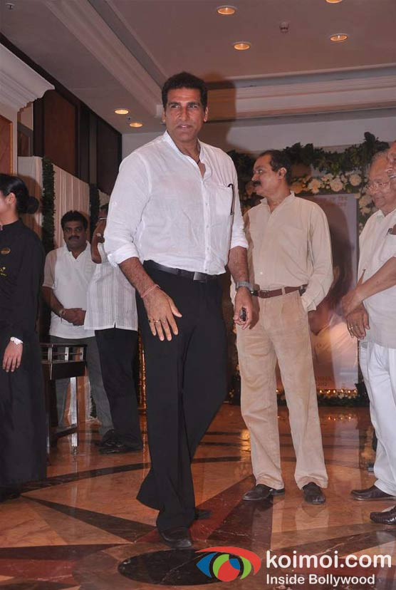 Mukesh Rishi At Rajesh Khanna's Prayer Meet
