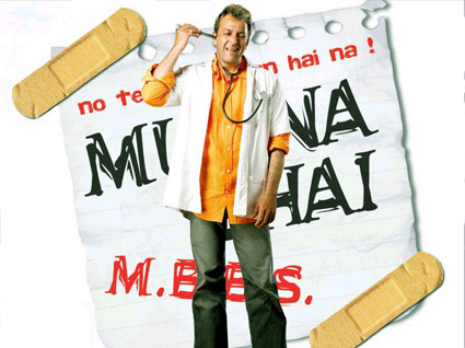 Munnabhai M. B. B. S. Movie Poster
