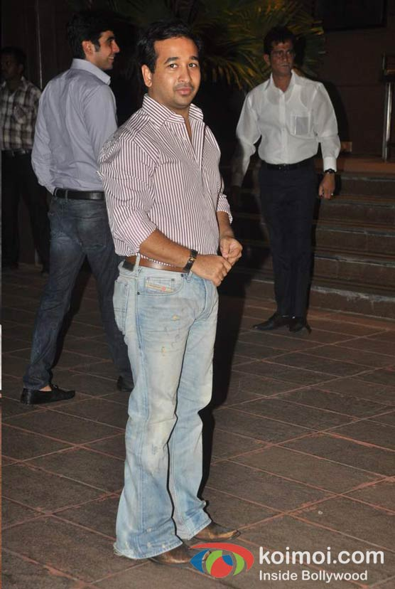 Nitesh Rane At Baba Siddique's Iftar Party
