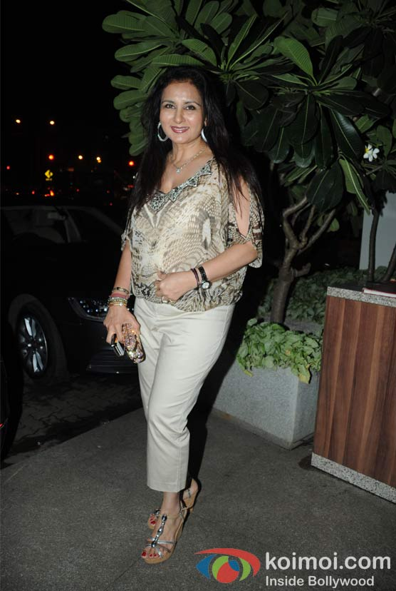 Poonam Dhillon at Wednesday Bar Nights Celebration