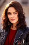 Preity Zinta smiles for the shutterbugs