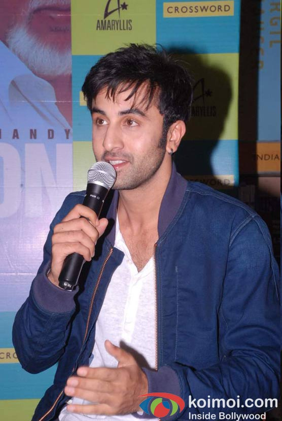 Ranbir Kapoor At Pritish Nandy's Book Launch
