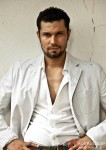 Randeep Hooda Smart in a white jacket
