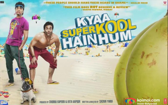 Riteish Deshmukh, Tusshar Kapoor In Kyaa Super Kool Hai Hum Movie Poster