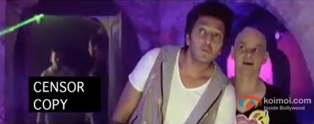 Ritesh Deshmukh and Howard Rosemeyer dialogue promo in Kyaa Super Kool Hain Hum Movie Stills