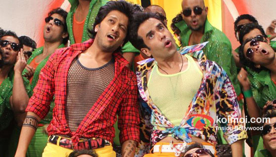 Ritesh Deshmukh, Tusshar In Kapoor Kyaa Super Kool Hain Hum Movie