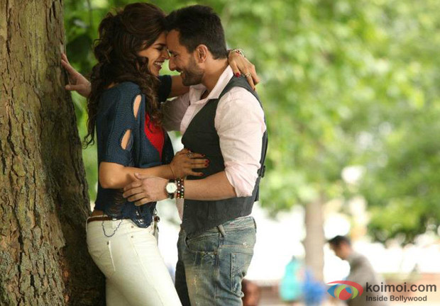 Saif Ali Khan and Deepika Padukone in Cocktail Movie Stills