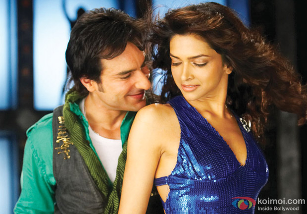 Saif Ali Khan and Deepika Padukone in Love Aaj Kal Movie Stills