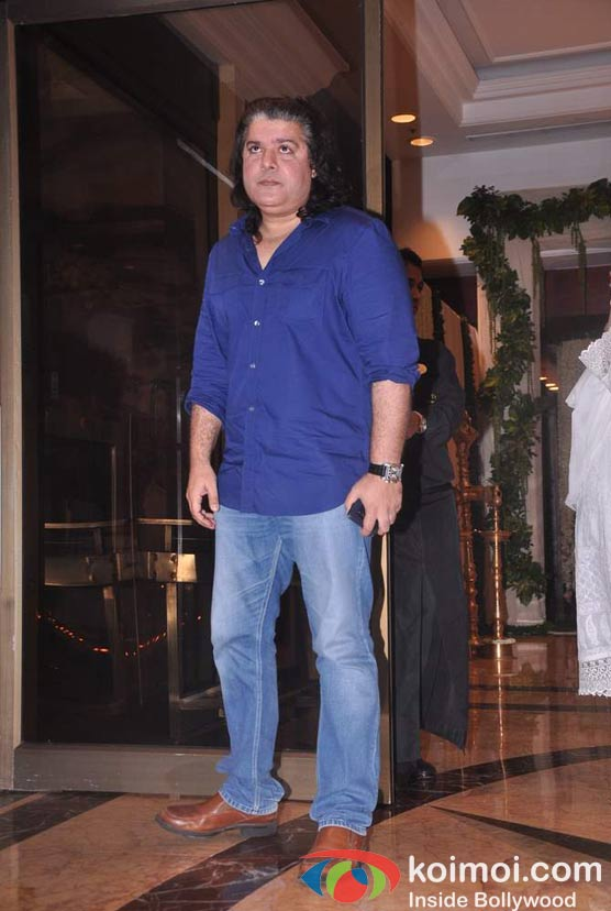 Sajid Khan At Rajesh Khanna's Prayer Meet