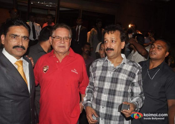 Salim Khan At Baba Siddique's Iftar Party