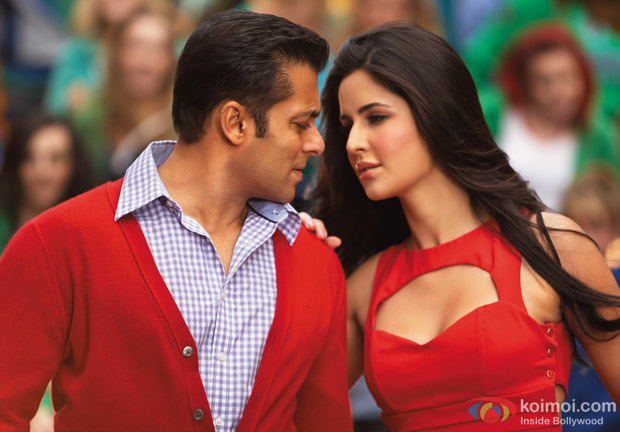 Salman Khan and Katrina Kaif in Ek Tha Tiger Movie Stills