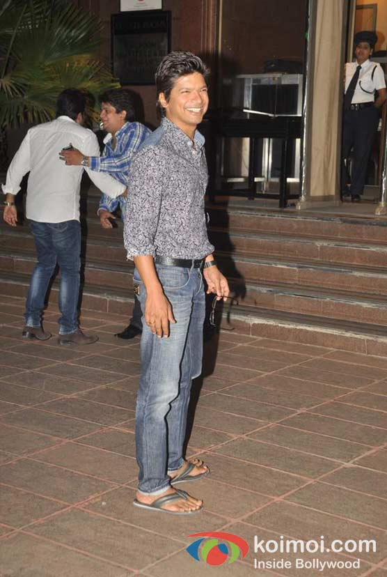 Shaan At Baba Siddique's Iftar Party