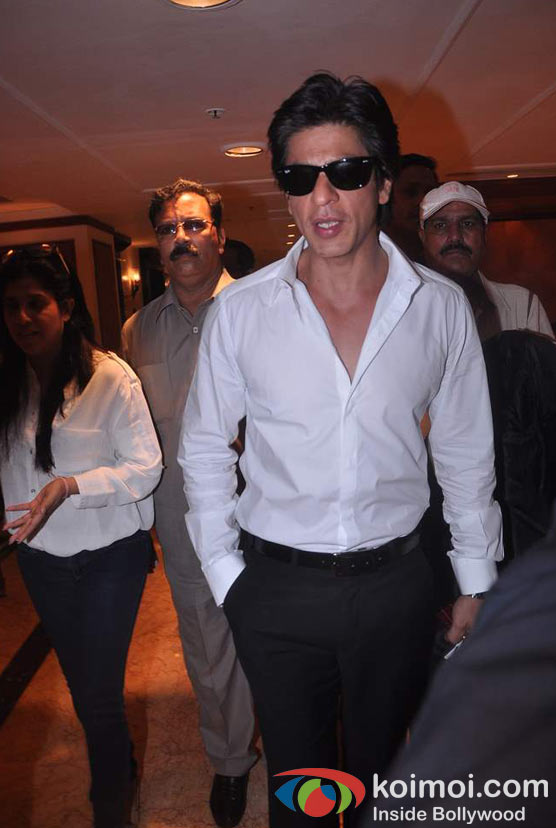 Shah Rukh Khan At Shirin Farhad Ki Toh Nikal Padi Movie Music Launch