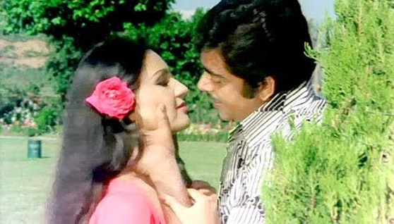 Shatrughan Sinha and Reena-Roy