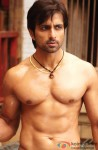 Sonu Sood in a still from Dabangg