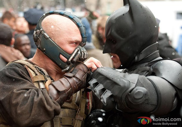 A still from The Dark Knight Rises Movie