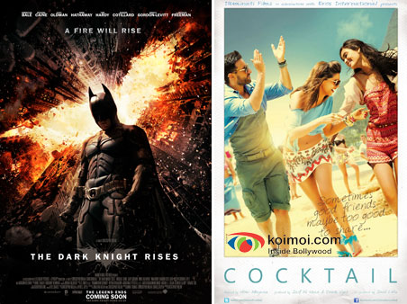 The Dark Knight Rises, Cocktail Movie Posters