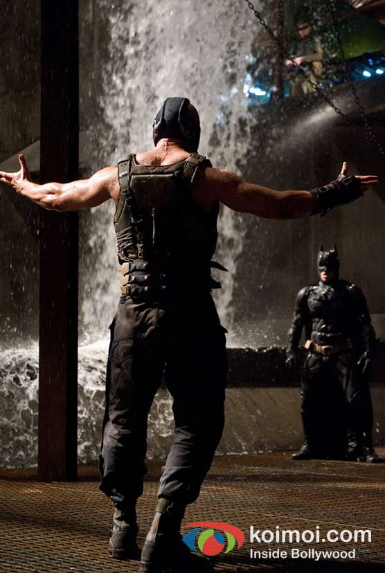 Tom Hardy In The Dark Knight Rises Movie Stills