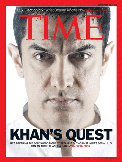 Aamir Khan On Time Magazine Cover Page