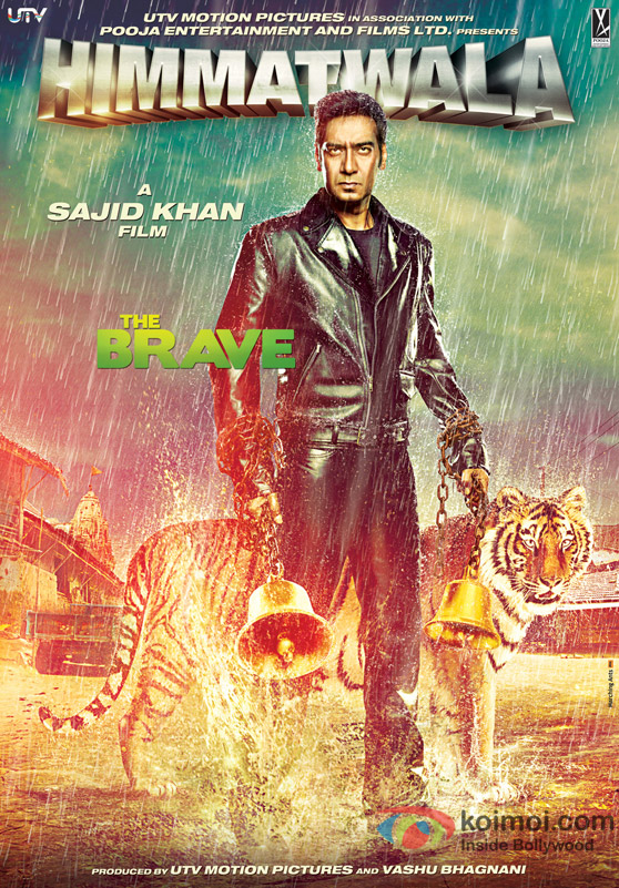 Ajay Devgan in Himmatwala Movie Poster