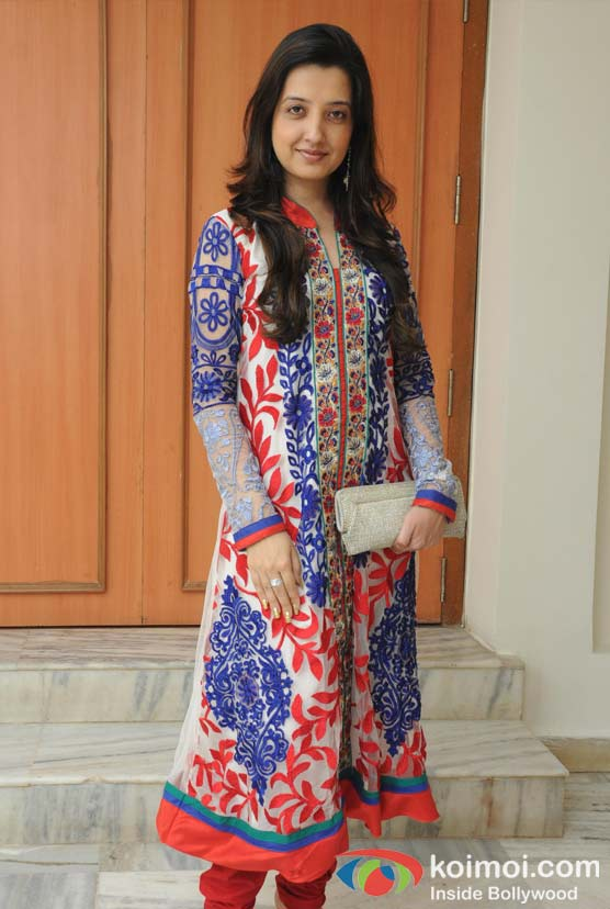 Amy Billimoria At The Opening Of Lord Krishna Festival