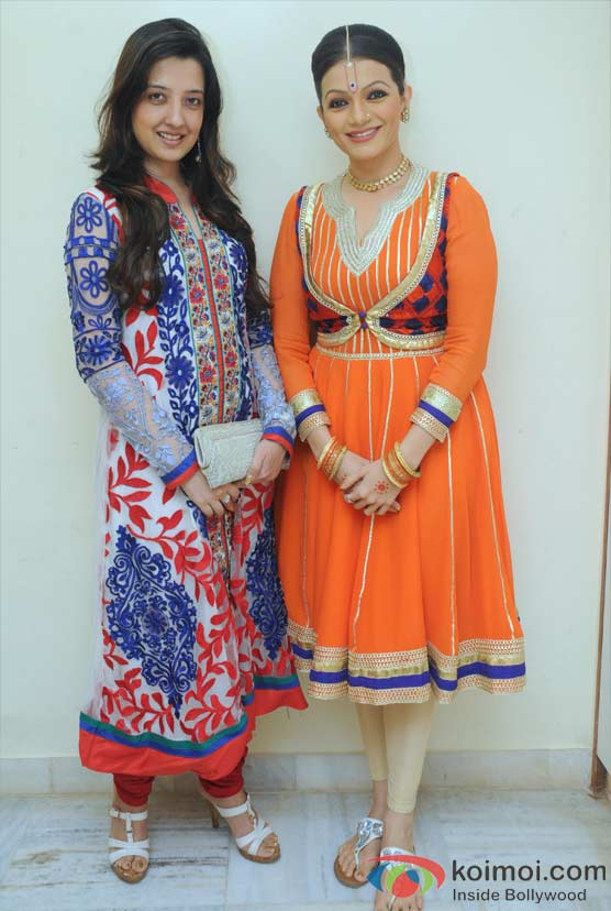 Amy Billimoria, Prachi Shah Performs For The Opening Of Lord Krishna Festival