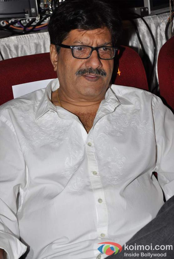 Anil Dhawan At Student Of The Year Movie Trailer Launch