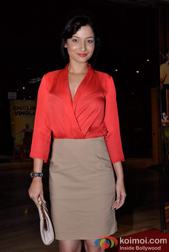 Ankita Lokhande At Shirin Farhad Ki Toh Nikal Padi Movie Special Screening At Cinemax