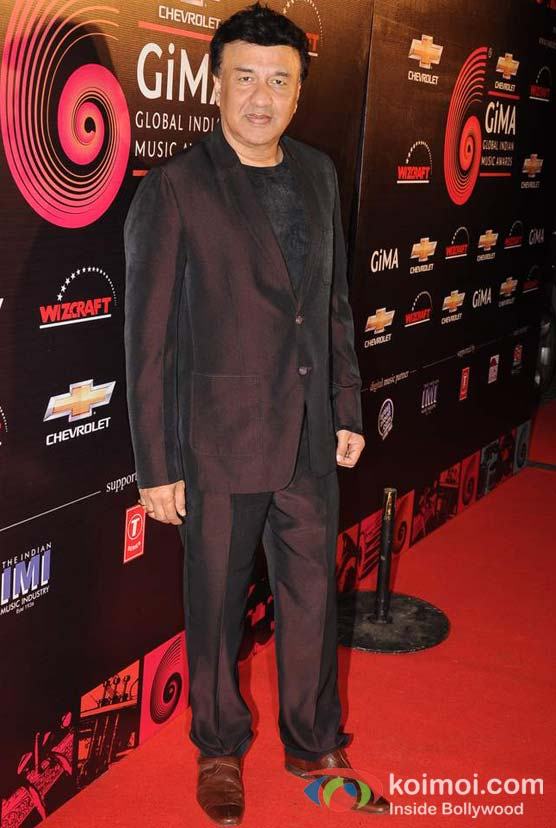 Anu Malik At Global Indian Music (GIMA) Awards 2012 Red Carpet