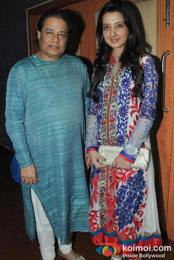 Anup Jalota, Amy Billimoria At The Opening Of Lord Krishna Festival