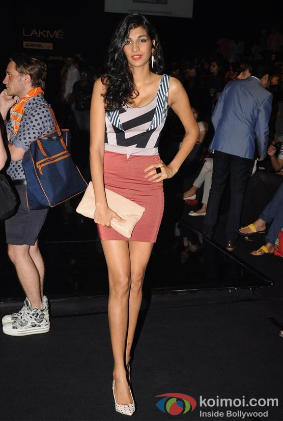 Anushka Manchanda At Lakme Fashion Week 2012