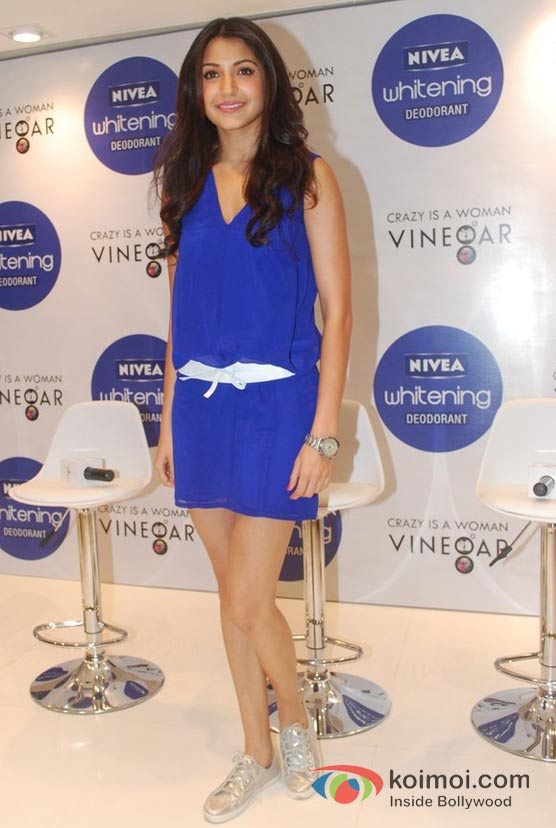 Anushka Sharma At Nivea Press Conference