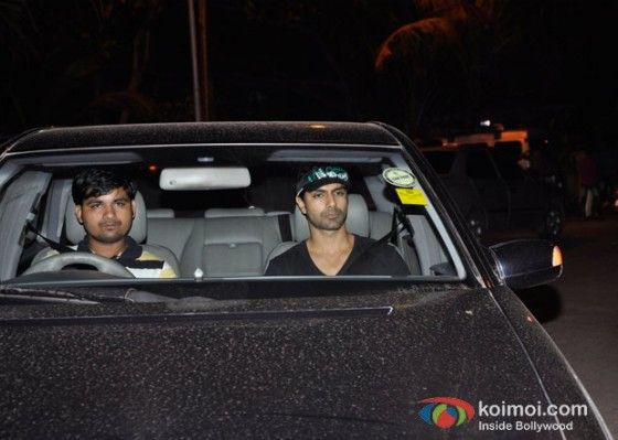 Ashmit Patel At Salman Khan's Eid Party