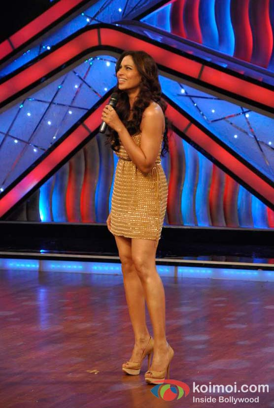Bipasha Basu On The Sets Of DID Litle Masters
